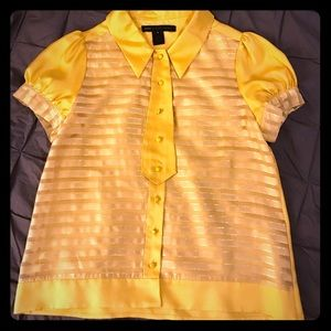 Marc by Marc Jacobs Golden Yellow Top